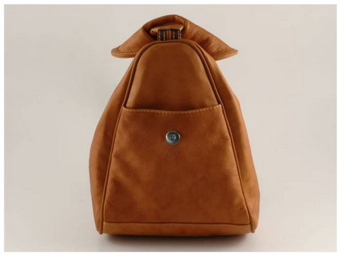 Italian High Quality Sauvage Leather Backpack - Manila