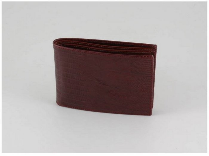 Italian High Quality Lizard Leather Men Wallet