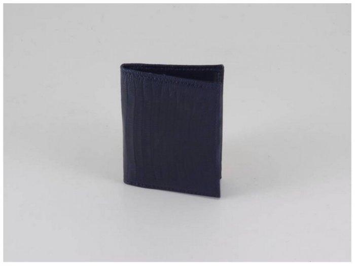Italian High Quality Lizard Leather Card Holder