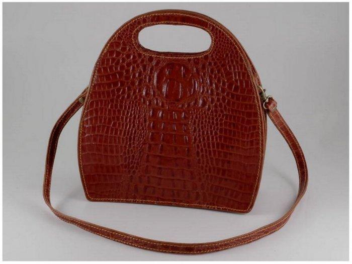 Italian High Quality Calfskin Leather Lady Bag - Carmen