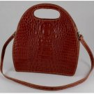 Italian High Quality Calfskin Leather Lady Bag - Carmen