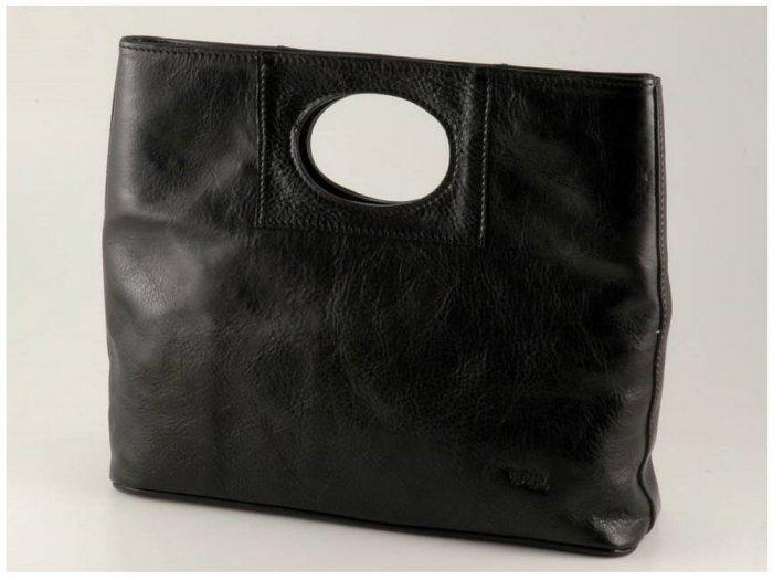 Italian High Quality Calfskin Leather Lady Bag - Mary