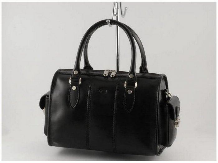 Italian High Quality Calfskin Leather Lady Bag - Marta