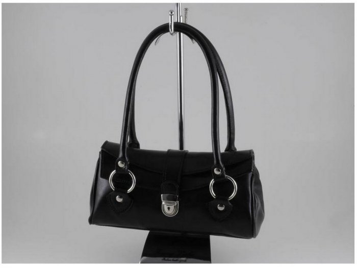 Italian High Quality Calfskin Leather Lady Bag - Katy
