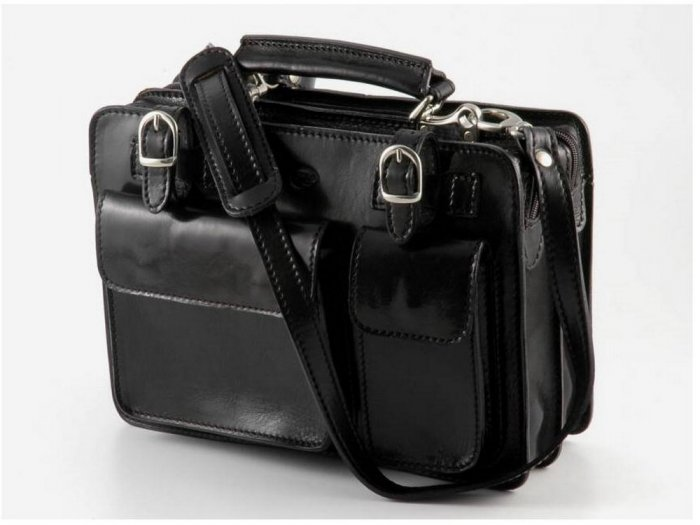 Italian High Quality Calfskin Leather LadyBag - Tania
