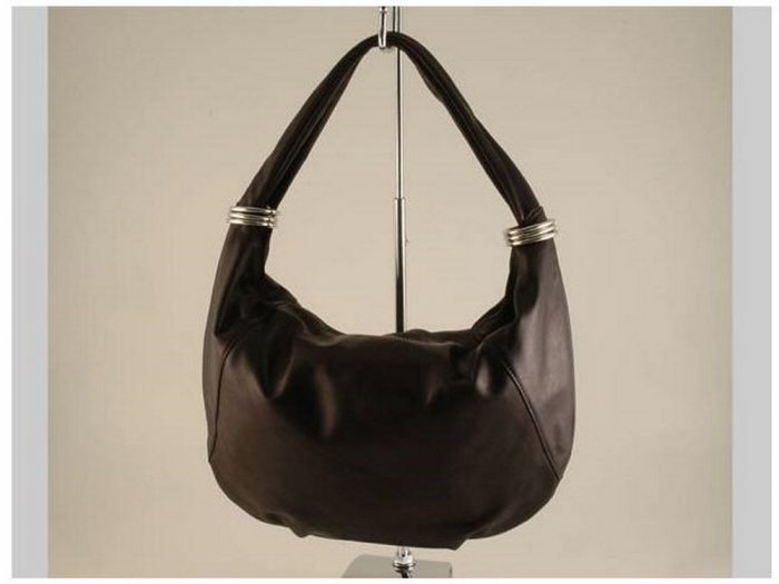 Italian High Quality Sauvage Leather Lady Bag - Yvette