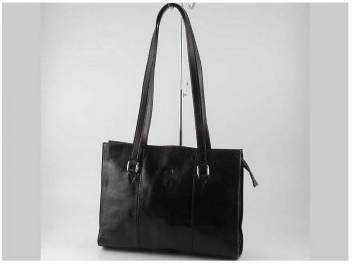 Italian High Quality CalfskinLeather Lady Bag LS- Rosy