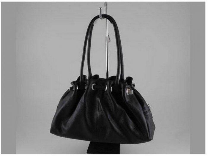 Italian High Quality Deer Leather Lady Bag - Raffaella