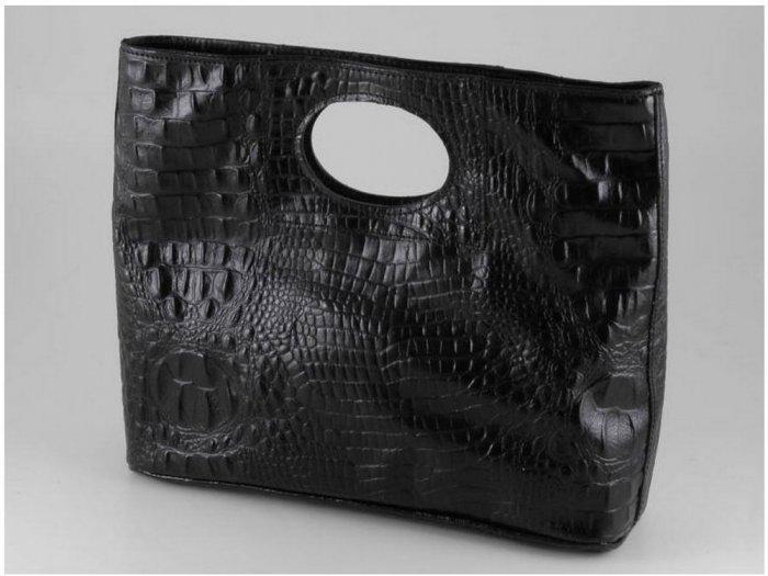 Italian High Quality Crocko Leather Lady Bag - Mary