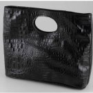 Italian High Quality Crocko Leather Lady Bag - Mary
