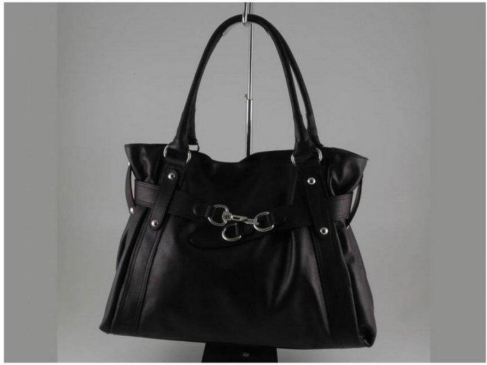 Italian High Quality Sauvage Leather Lady Bag - Luisa