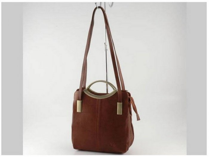 Italian High Quality Sauvage Leather Lady Bag - Lory
