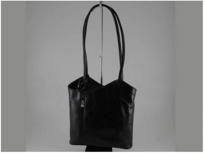 Italian High Quality Calfskin Leather Lady Bag -Evelyne