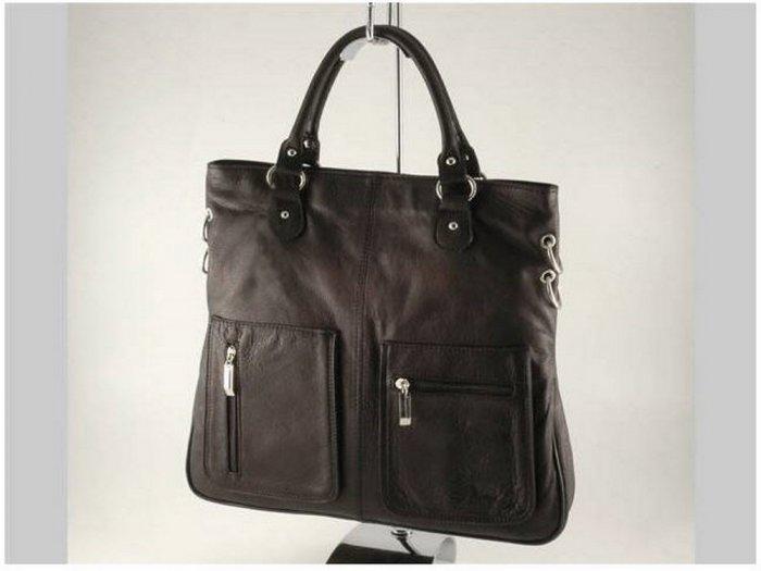 Italian High Quality Sauvage Leather Lady Bag -Camilla
