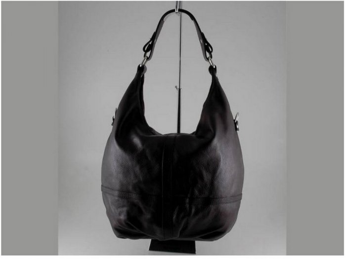 Italian High Quality Sauvage Leather Lady Bag - Barbara