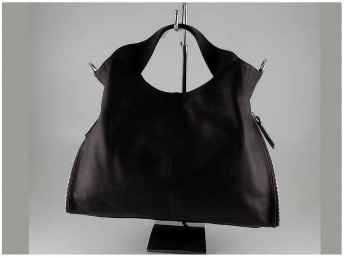 Italian High Quality Sauvage Leather Lady Bag -Aurora