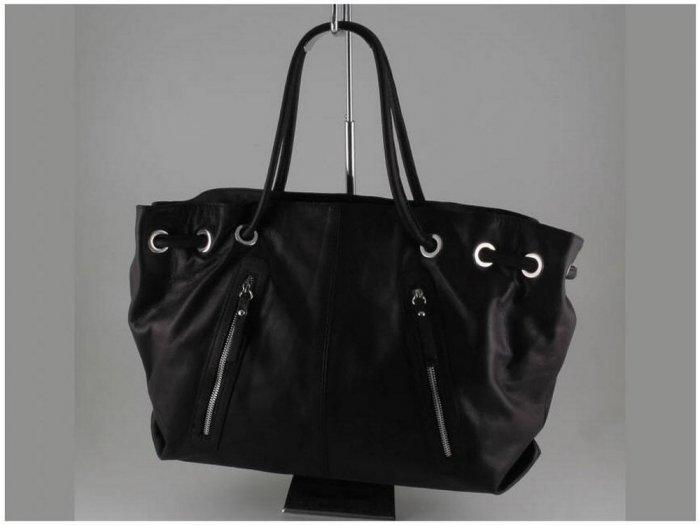 Italian High Quaity Sauvage Leather Lady Bag - Aida
