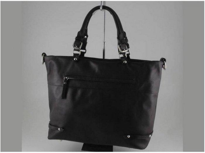 Italian High Quality Sauvage Leather Lady Bag - Adriana
