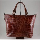 Italian High Quaity Crocko Leather Lady Bag - Adriana