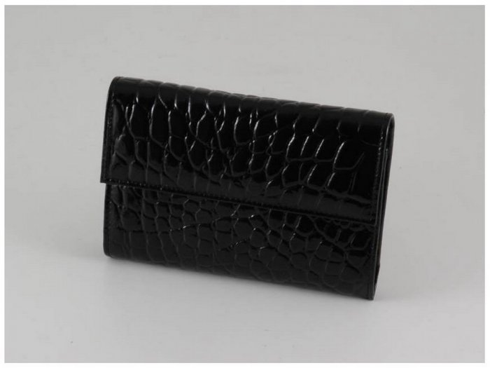 Italian High Quality Bycast Leather WomenWallet -Crocko