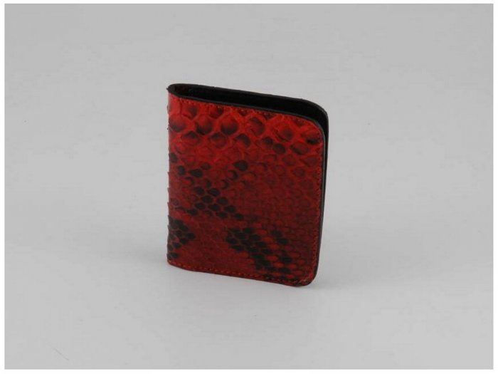 Italian High Quality Real Python Leather MenWallet