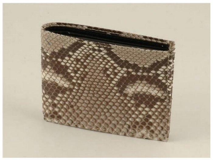 Italian High Quality Python Leather MenWallet-Exclusive