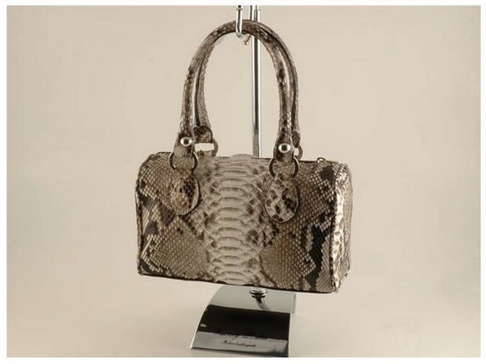 Italian High Quality Python Leather Lady Bag - Sissy