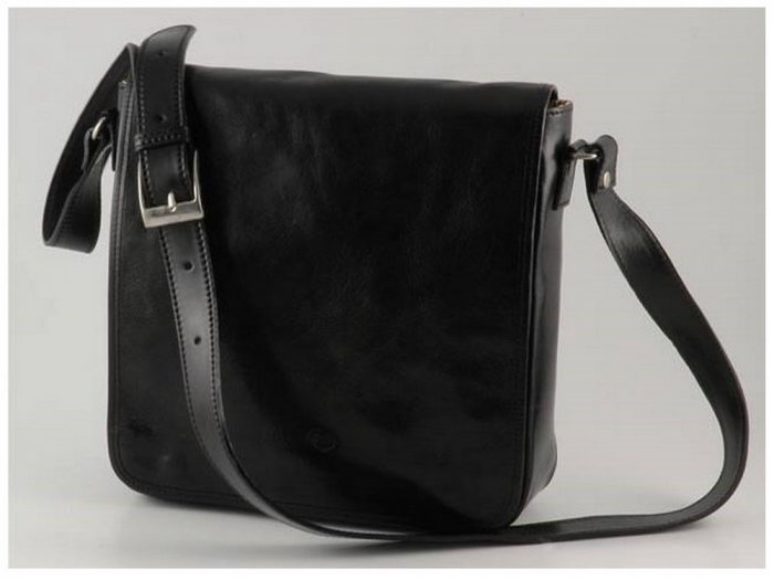 Italian High Quality Calfskin Leather Bag SS-Messenger