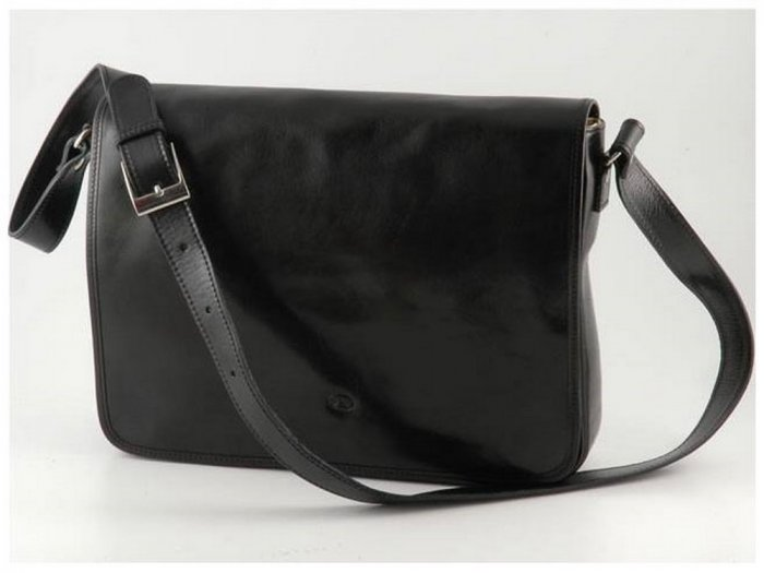 Italian High Quality Calfskin Leather  Bag -Messenger