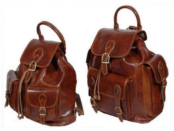 Italian High Quality Calfskin Leather TravelSet-Trekker