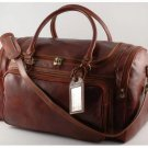 Italian High Quality Calfskin Leather TravelBag -Prague