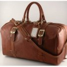 Italian High Quality Calfskin Leather TravelBag -Monaco