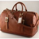 Italian High Quality CalfskinLeather TravelBag-Istanbul