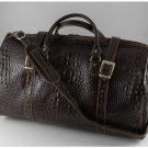 Italian High Quality Leather Travel Bag - Berlin