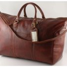 Italian HighQuality CalfskinLeather TravelBag-Amsterdam
