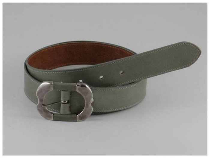 Italian High Quality Bycast Leather Lady Belt