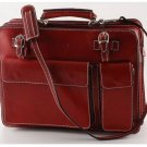 Italian High Quality Calfskin Leather Briefcase-Venezia