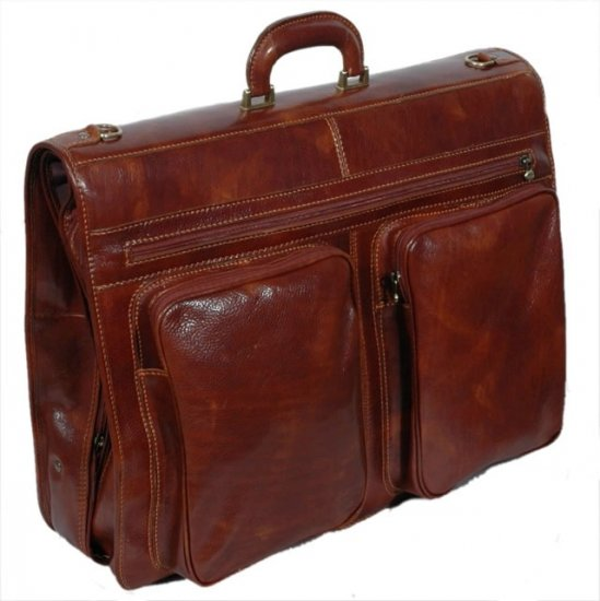 Italian High Quality Leather Travel Bag -PelleveraVinci