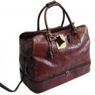 Italian High Quality Leather Travel Bag -Pellevera