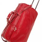 Italian High Quality Leather Travelbag -PelleveraPonted