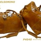 Italian High Quality Leather Travelbags-PelleveraGelsom