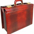 Italian High Quality Leather  Pilotcase - Lorenzo il Ma