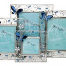 "Blue Butterfly Photo Frame 5"" x 7"""