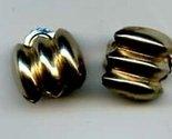 Jeray goldtone clip earrings