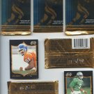 Pinnacle summit football cards 7 cards per pack