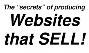 """""""Discover what you need to know about designing websites that SELL!"""""""
