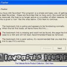 Favorites Flusher Software.. No More DEAD Favorites!