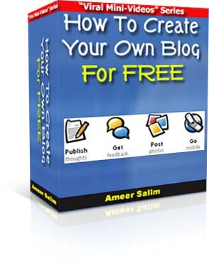 How To Create Your Own Blog w/Video Instruction