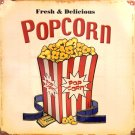 TIN SIGN - Popcorn