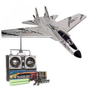 HX RADIO CONTROL F-14 TOMCAT SUPER FIGHTER AIRPLANE